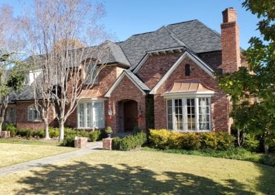 Roof Replacement on a House in DFW